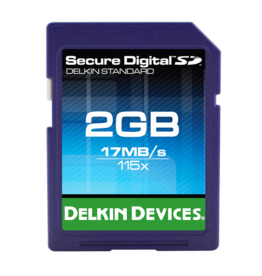 Delkin Devices Delkin Devices SD 115X SD Card 2gb