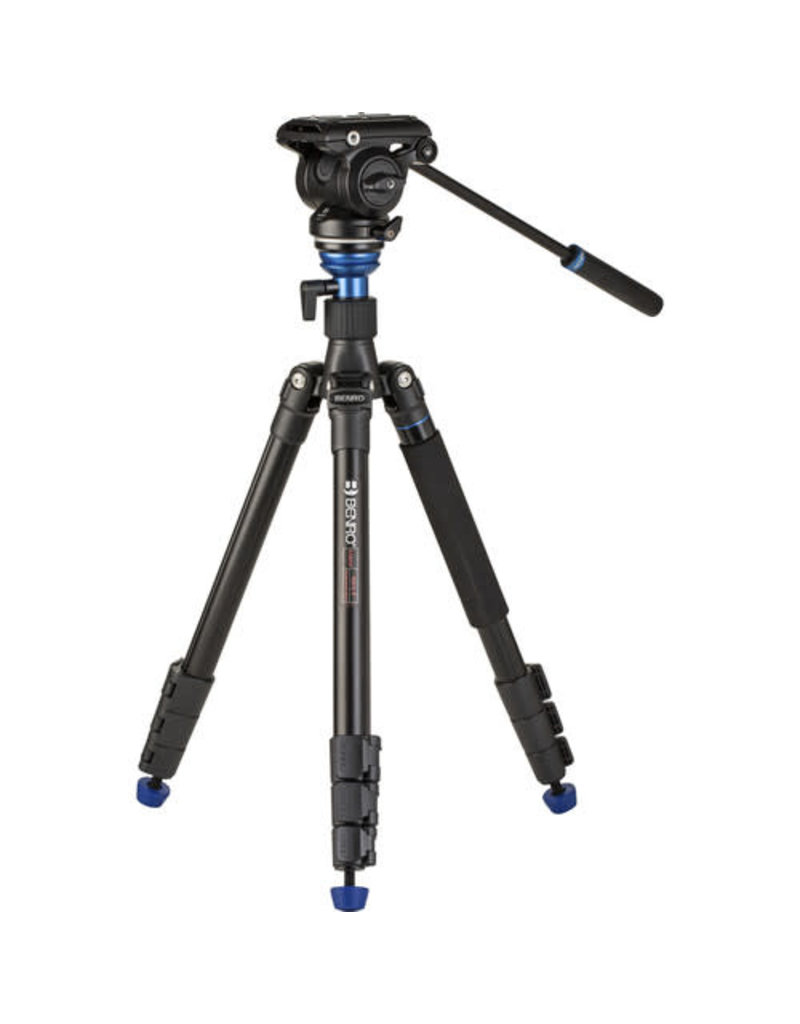 Benro Benro A2883F Reversing-Folding Tripod with S4PRO Video Head