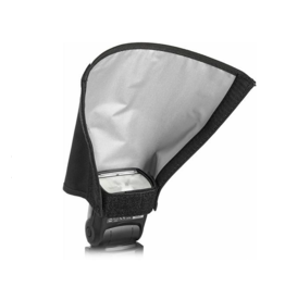 "HONL Photo Professional Honl 8"" white/black reflector speed snoot"