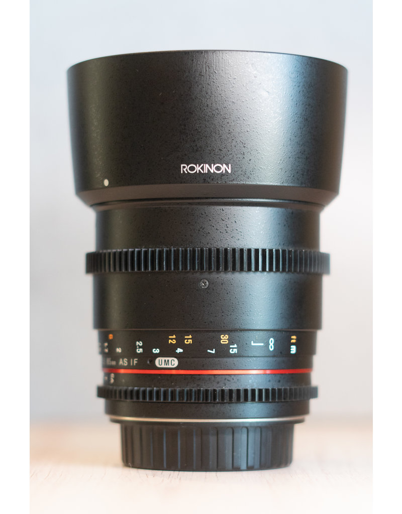 Rokinon Used Rokinon 85mm T/1.5 for Canon Mount