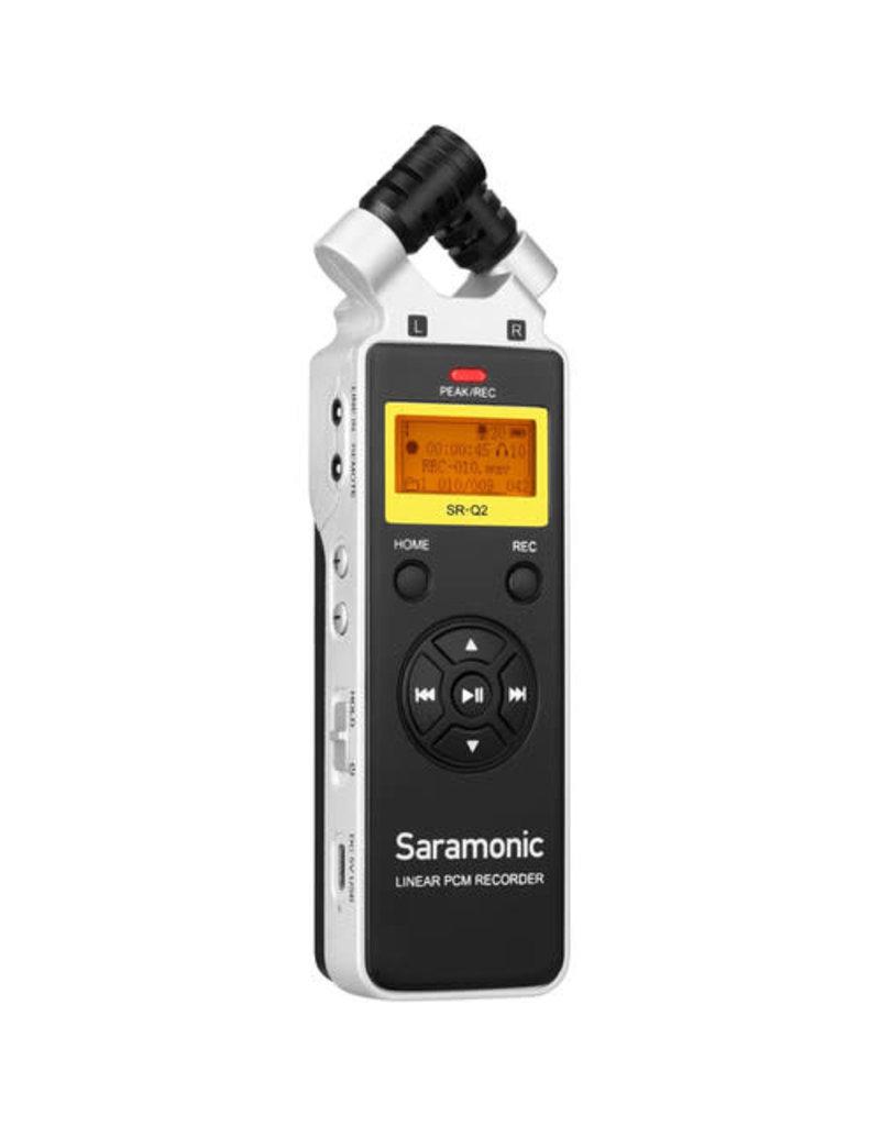 SARAMONIC Saramonic SR-Q2 HandHeld Audio Recorder with Stereo Microphone