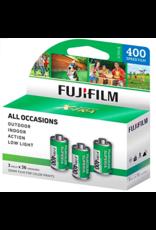 Fujifilm FujiFilm 3 Pack x 36 Exposures 400