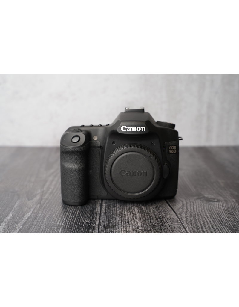 Used Canon 50D Body only