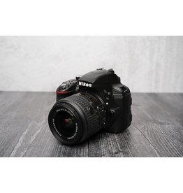 Nikon Used Nikon D3300 w/ 18-55 Lens Shutter Count: Under 100 Clicks