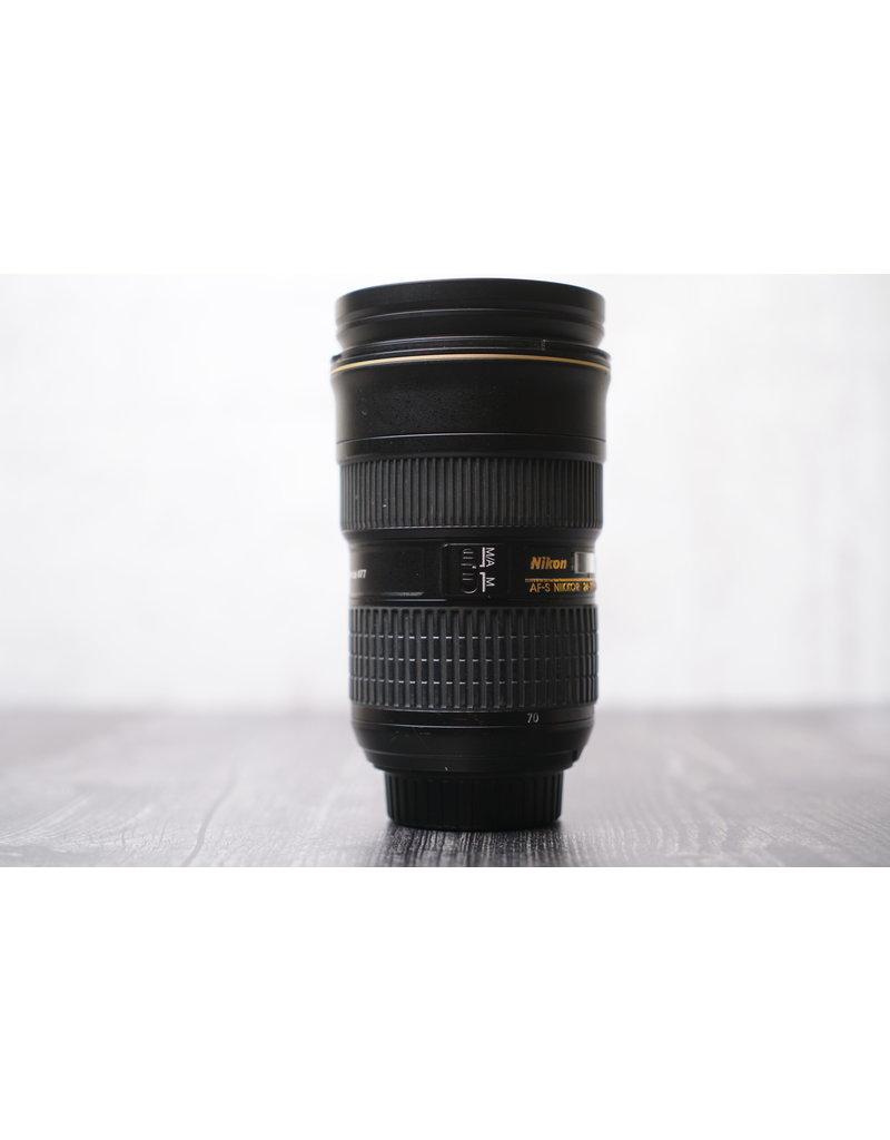 Nikon Used Nikon AF-S NIKKOR 24-70mm f/2.8G ED Lens