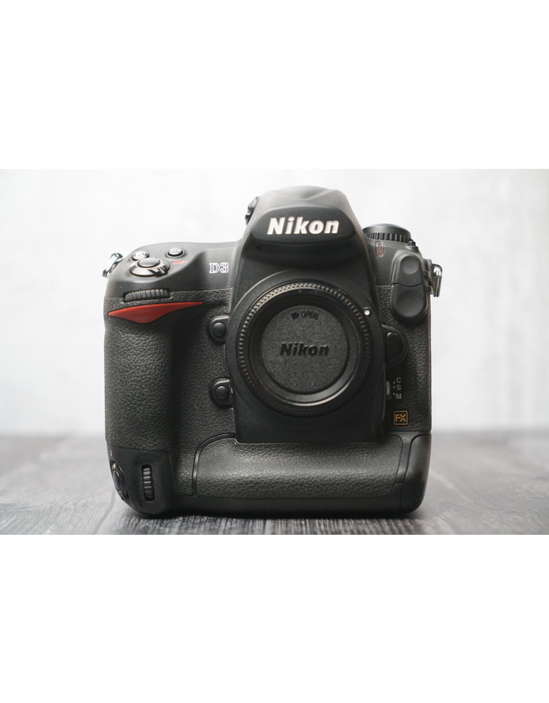 Nikon Used Nikon D3 Body Only