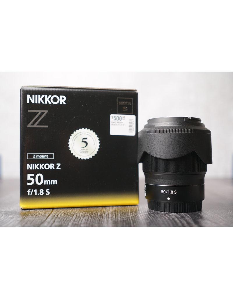 Nikon Used Nikkor 50mm F/1.8 S for Z-Mount