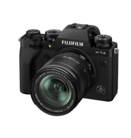Fujifilm Fuji X-T4 with XF18-55mm 2.8 Black