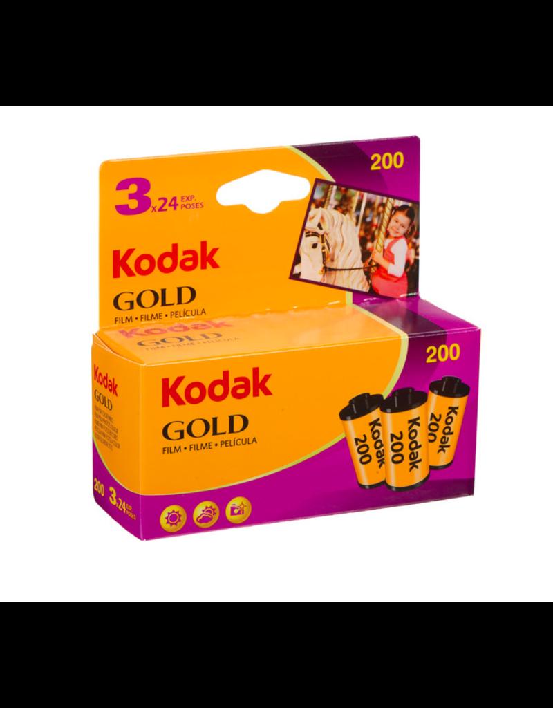 Kodak Kodak Gold 200 35mm Color Negative Film (3-Pack)