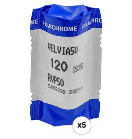 Fujifilm Fujifilm Velvia 50 120mm Film Pro Pack