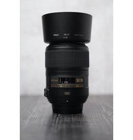 Used Used Nikon 85mm F/3.5 G Macro Lens DX