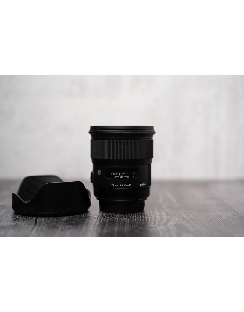 Sigma Used Sigma 24mm F/1.4 DG HSM ART for Canon EF