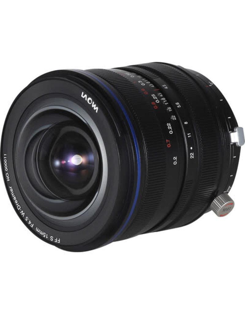 Venus Optics Laowa Laowa 15mm F/4.5 Zero-D Shift Lens for Sony E