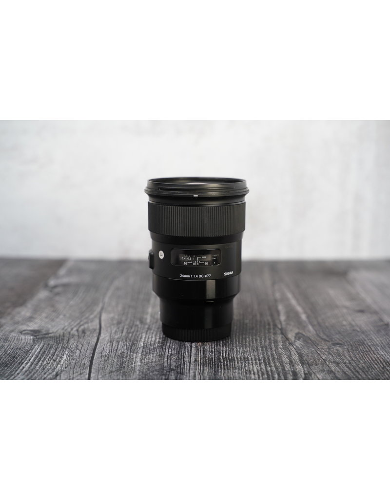 Sigma Used Sigma 24mm F/1.4 Art for Sony FE