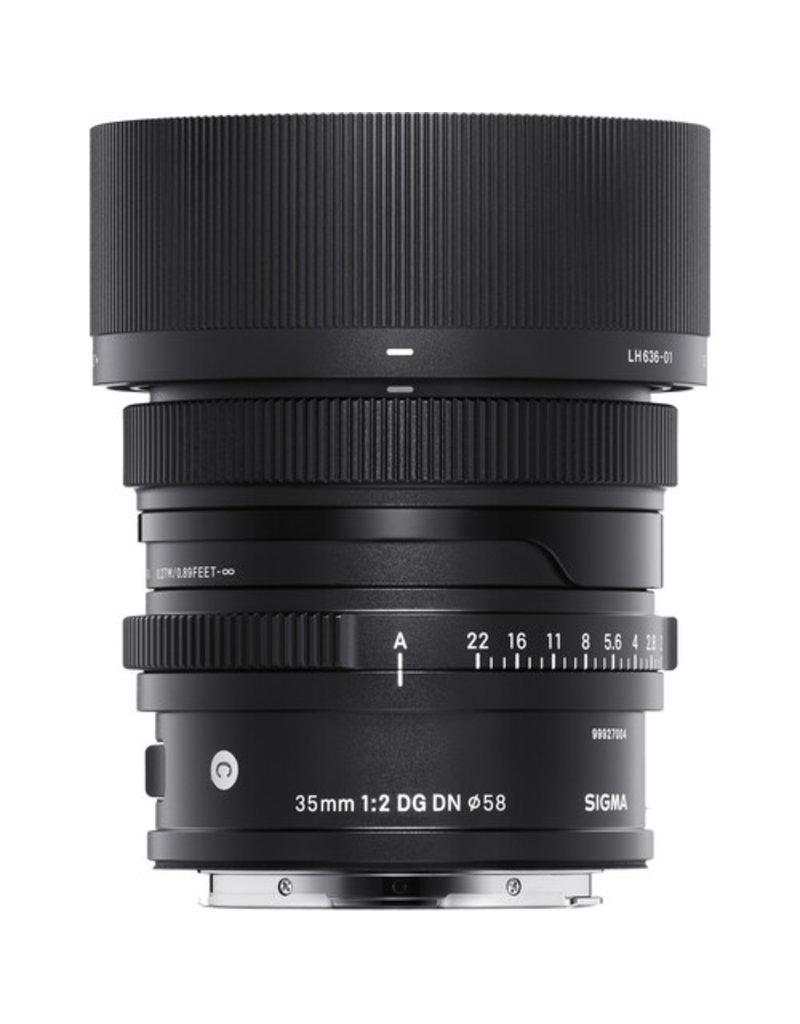 Sigma Sigma 35mm F2.0 Contemporary DG DN for Sony E mount