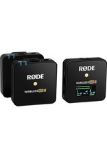Rode Rode Wireless GO II 2-Person Compact Digital Wireless Microphone System/Recorder