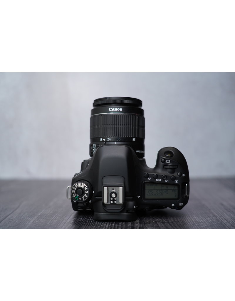 Canon Used Canon 80D Body w/ 18-55mm Kit Lens Shutter Count:: 3800