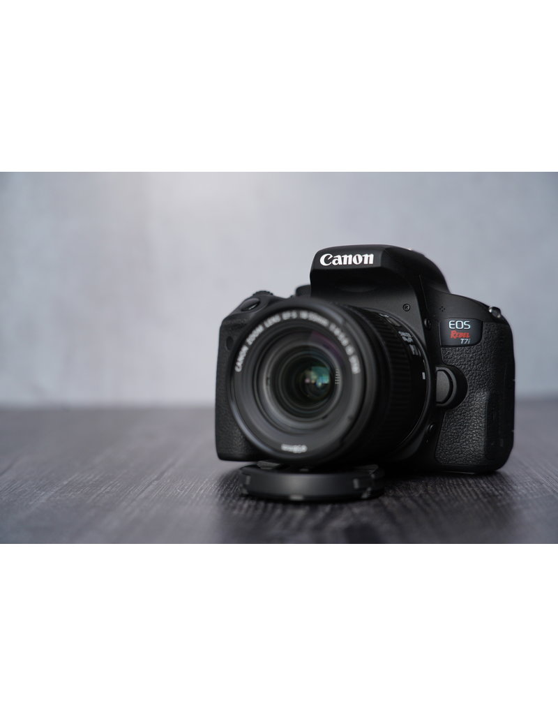 Canon Used Canon Rebel T7i W/ 18-55 IS STM Shutter Count 3500