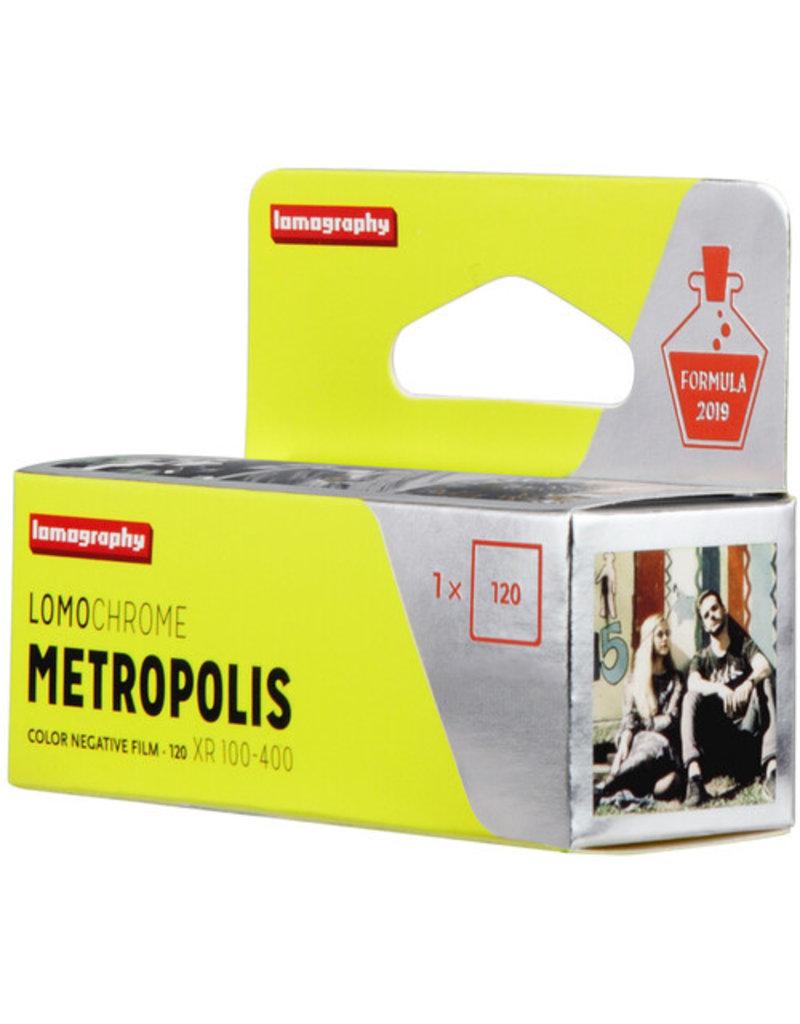 Lomography Lomochrome Metropolis XR 100-400 120mm Film