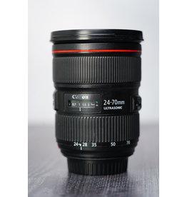 Canon Used Canon 24-70mm F/2.8 L II USM