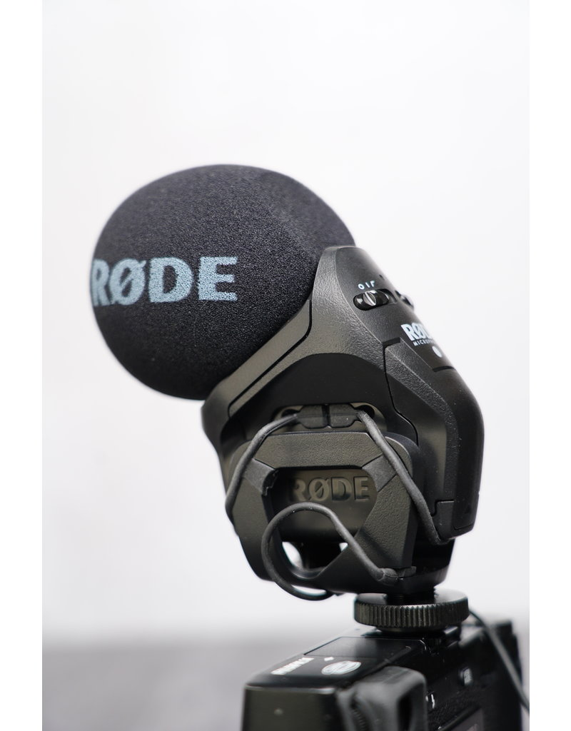 Rode Rode Stereo VideoMic Pro (Open Box. Very Lightly Used)