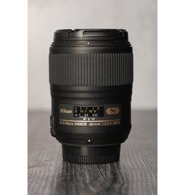 Nikon Used Nikon 60mm F/2.8 G ED Lens