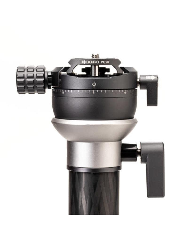 "Benro Benro MSDPL46C SupaDupa Carbon Fiber Monopod with Leveling Pan Head (62"")"