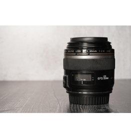Canon Used Canon EF-S 60mm F/2.8 Macro Lens