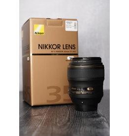 Nikon Used Nikon 35mm F/1.4 G w/ Original Box