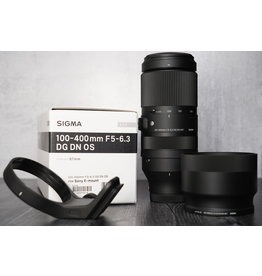 Sigma Used Sigma 100-400mm F/5-6.3 w/ Collar Mount + UV for Sony FE