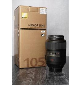 Nikon Used Nikon AF-S 105mm F/2.8 G IF-ED VR Micro Lens w/ Original Box