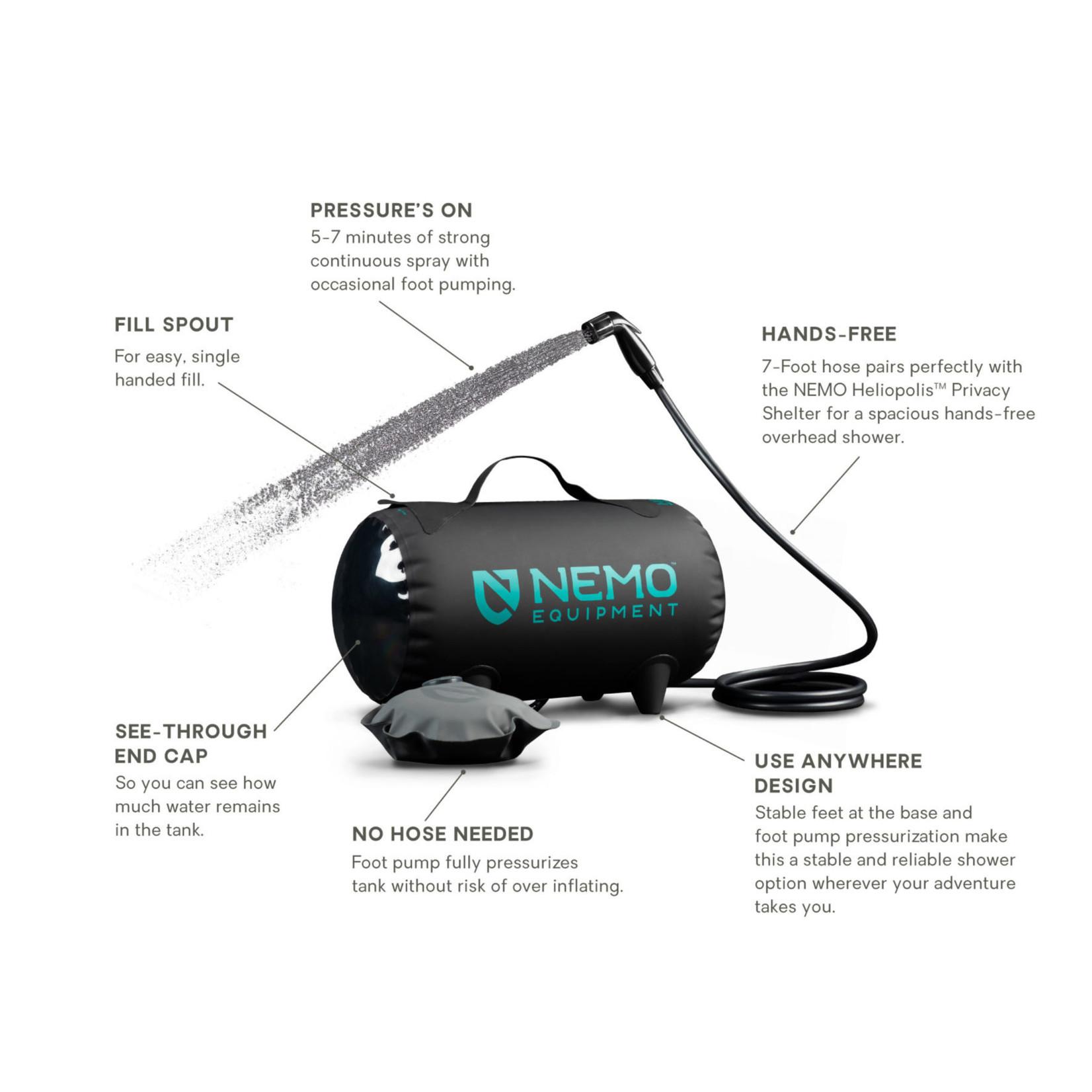 NEMO Helio™ Pressure Shower