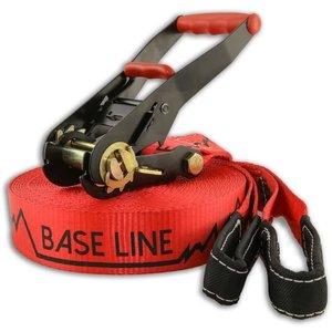 Slackline Base Line 80ft - Red