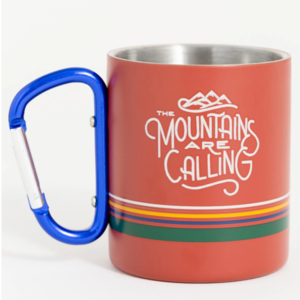 United By Blue Mountains Are Calling 10 oz. Carabiner