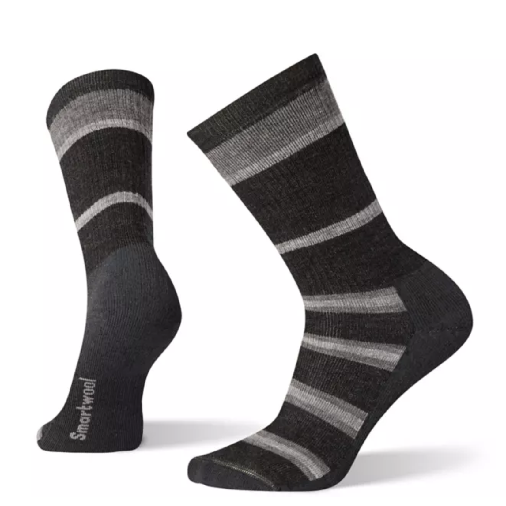 Smartwool Men's Striped Medium Hiking Crew Socks