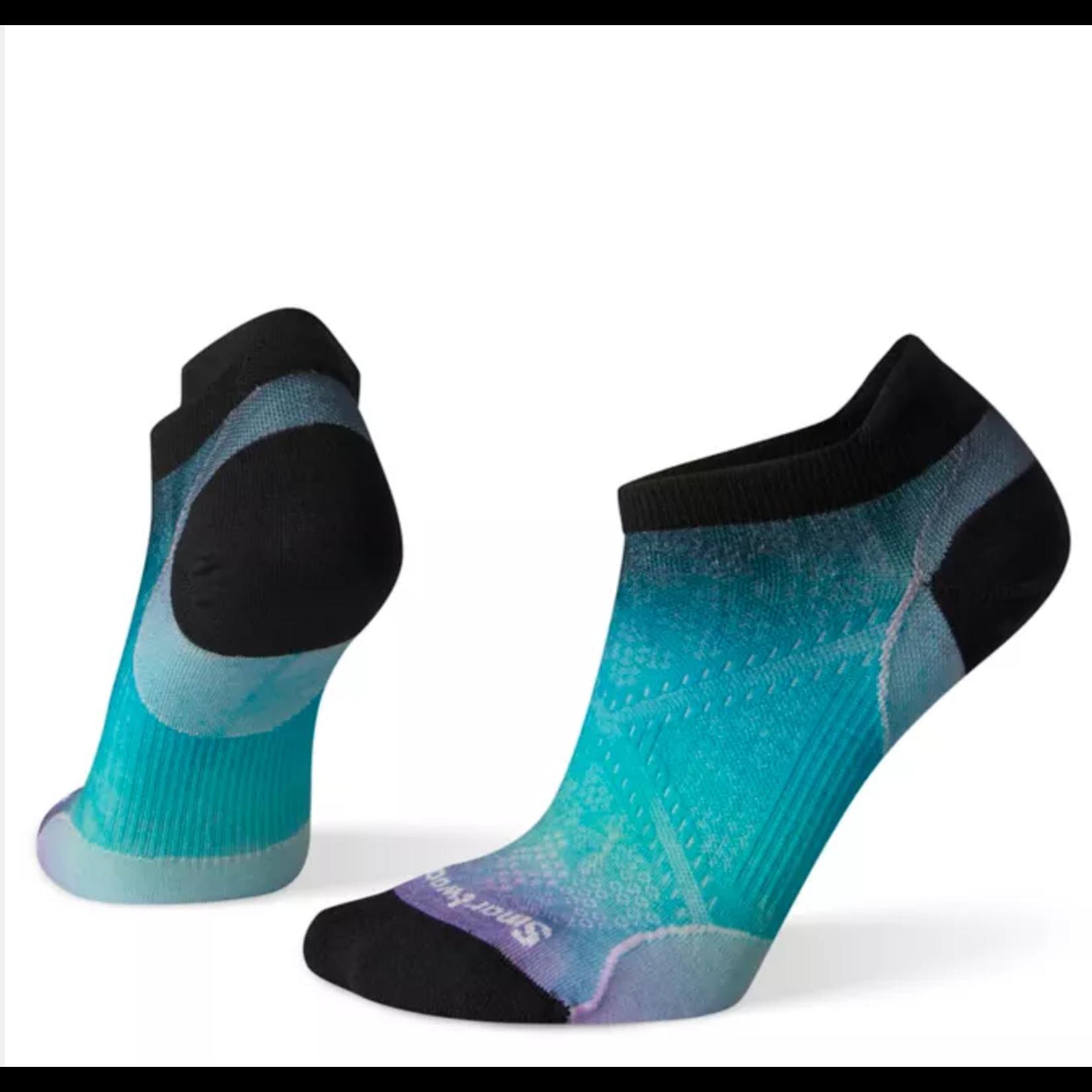 Smartwool Women's PhD® Run Ultra Light Ombre Print Micro Socks