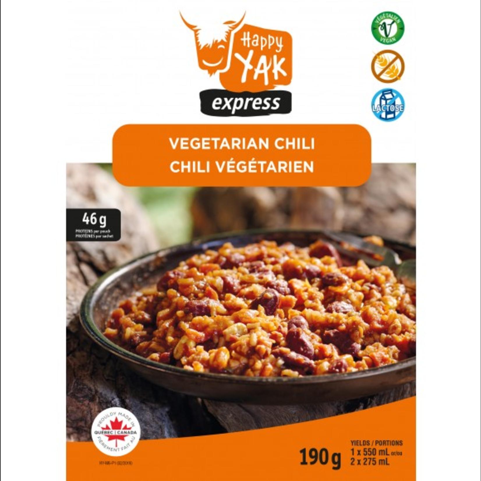 Happy Yak Vegetarian Chilli