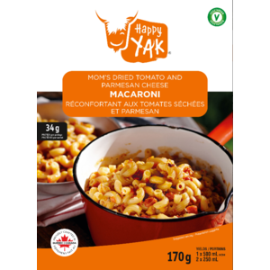 Happy Yak Mom's Dried Tomato and Cheese  Macaroni 1 portion