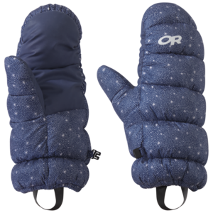 OR Outdoor Research Women's Warli Sky Transcendent Down Mitts