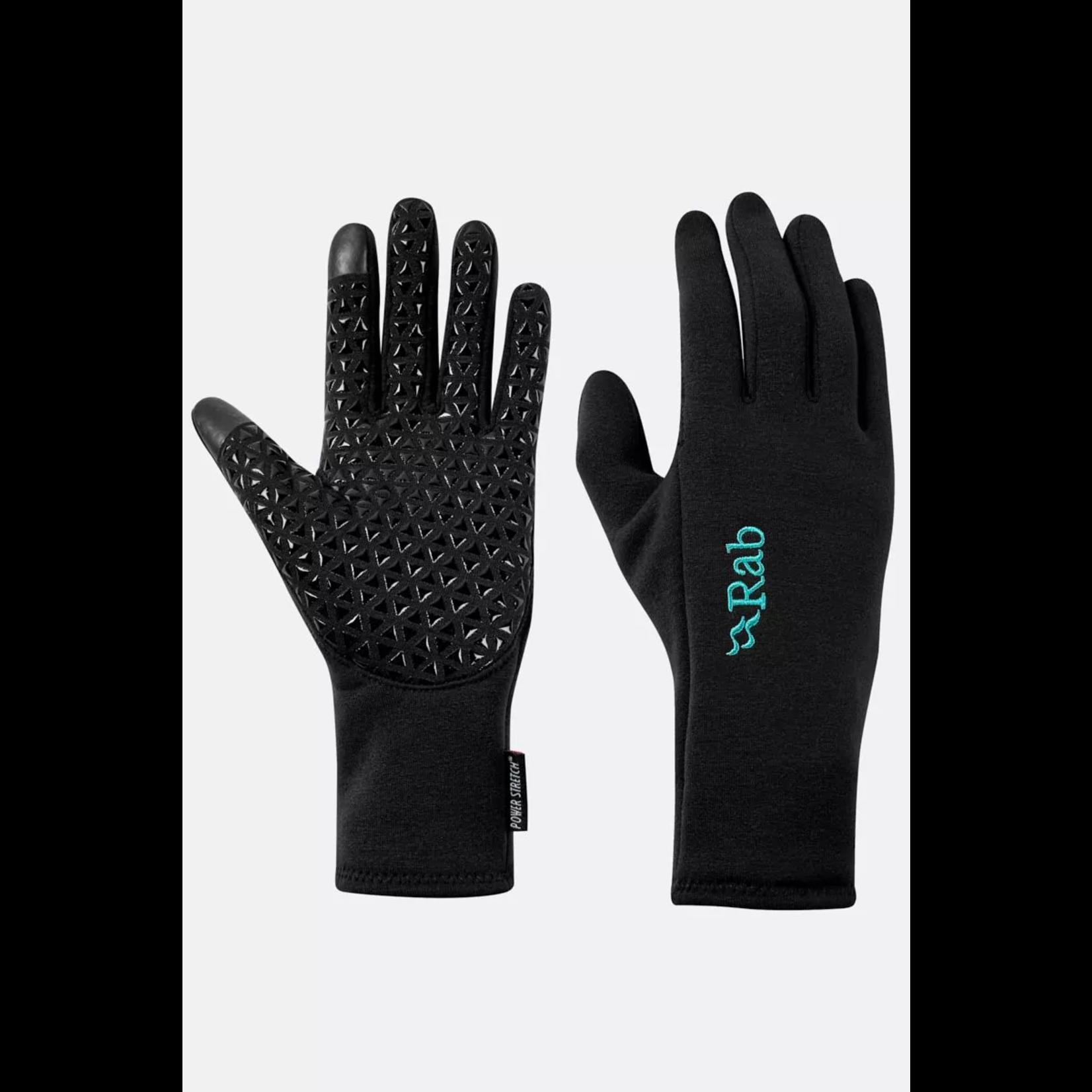 RAB Women's  Power Stretch Contact Grip Glove