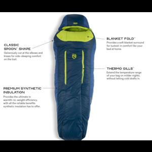 NEMO Forte™ 20 Men's Synthetic Sleeping Bag