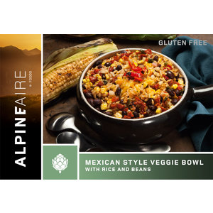 ALPINEAIRE Mexican Style Veggie Bowl