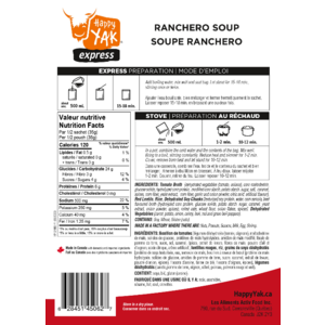 Happy Yak Ranchero Soup