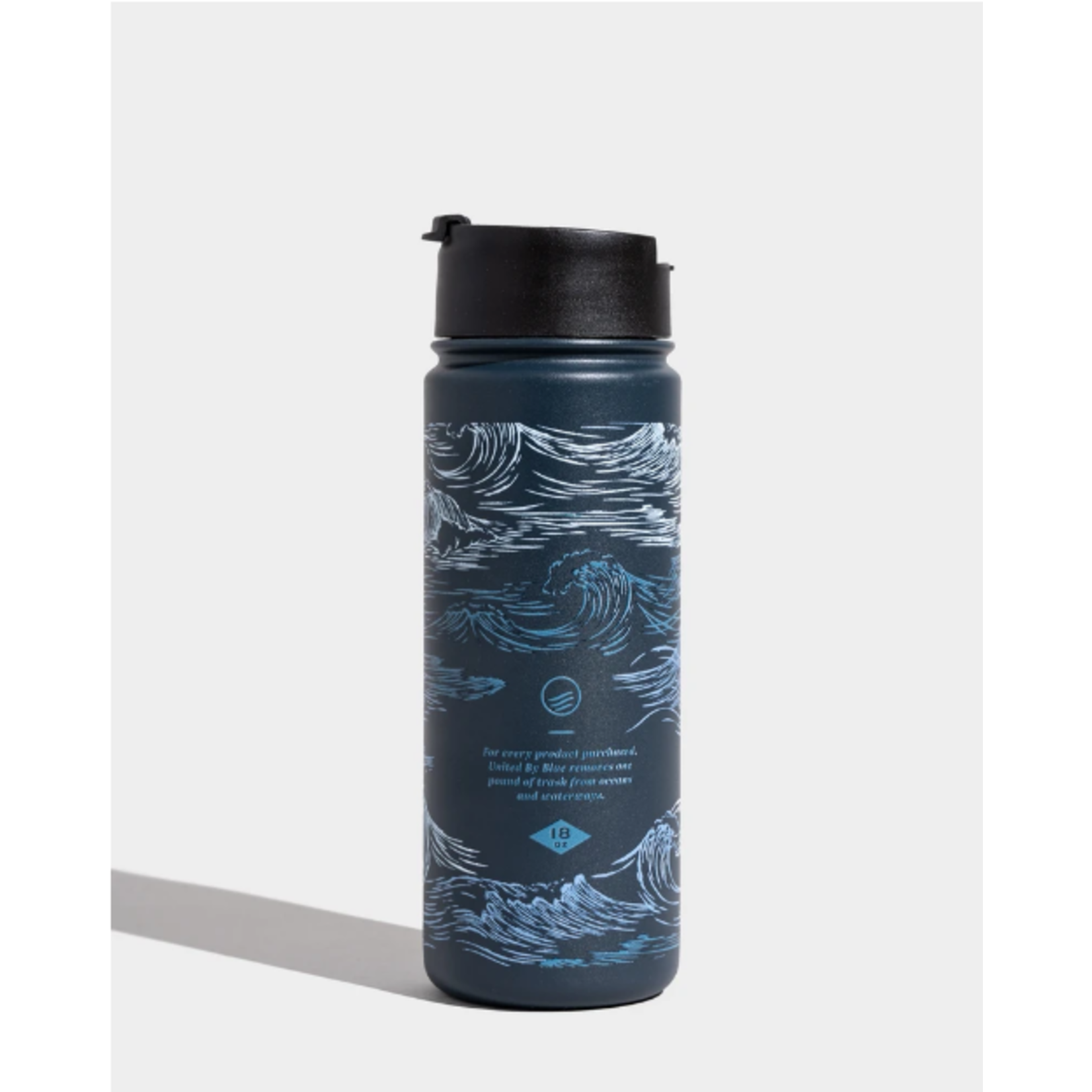 United By Blue Insulated Steel  Bottle 18 OZ