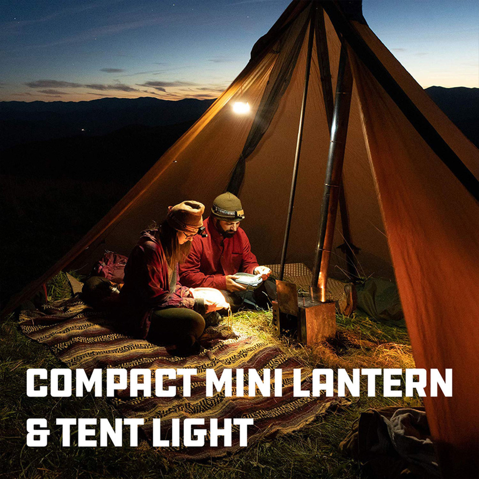 UCO Gear Sprout+ Mini Lantern - Lithium Rechargeable