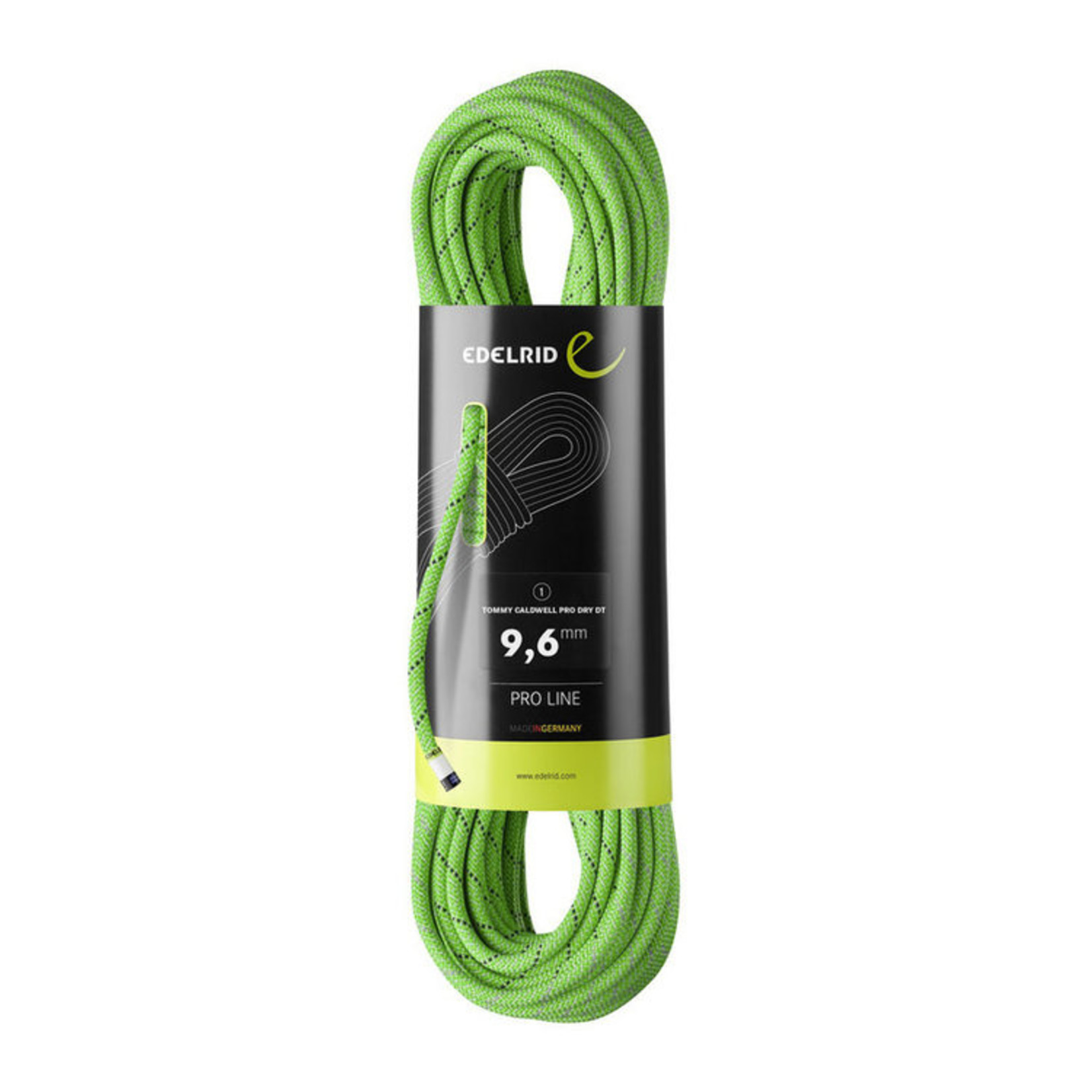 Edelrid Tommy Caldwell DuoTec 9.6mm, 60m, lime