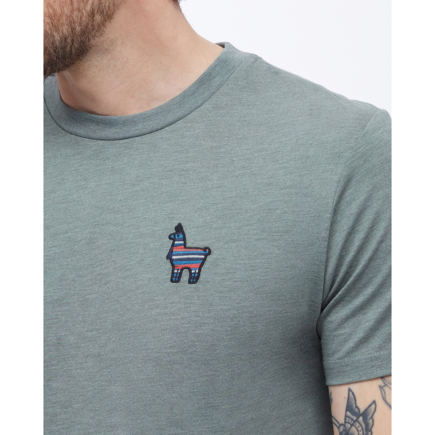 tentree® Peru Embroidered Llama T-Shirt