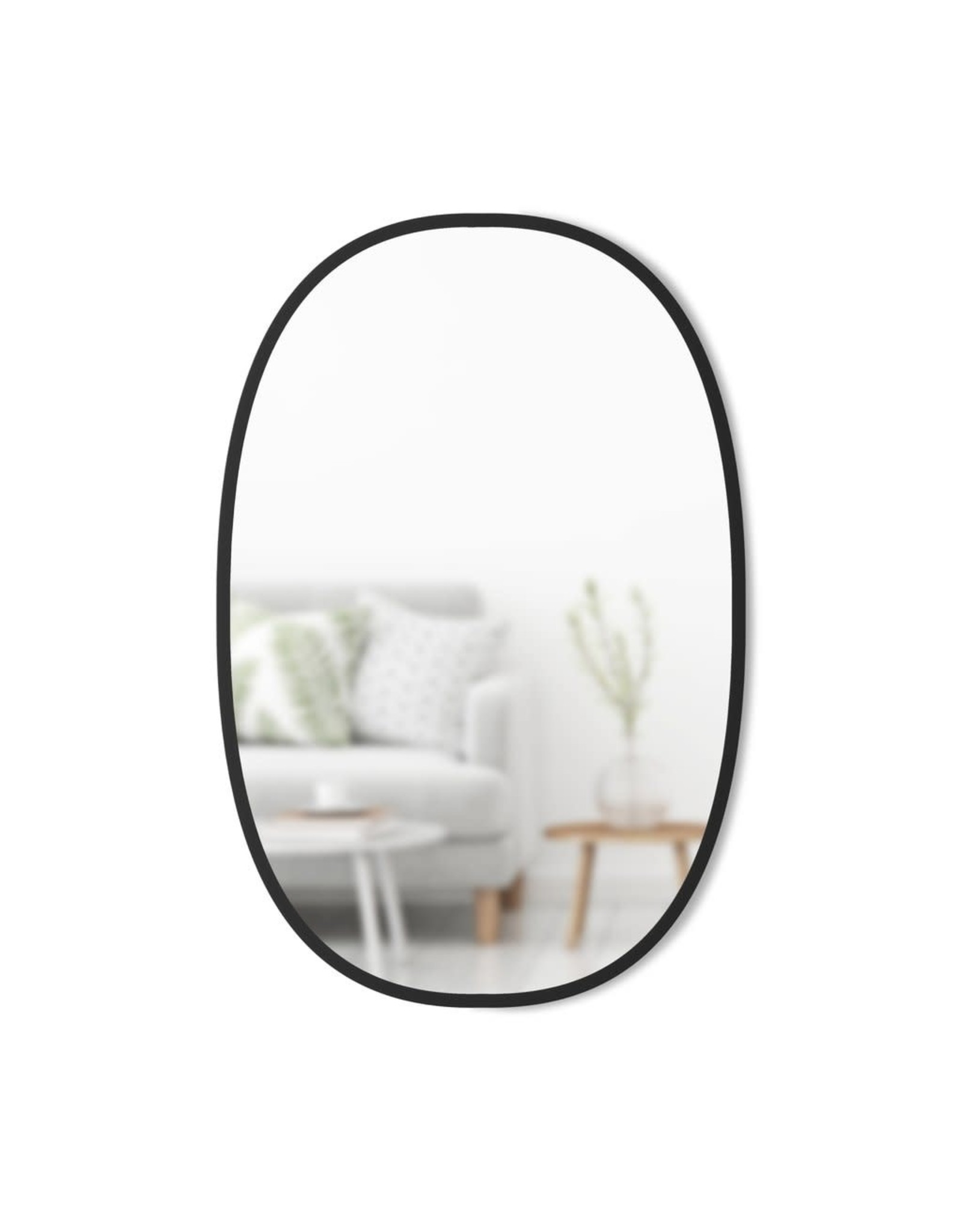 Hub Oval Mirror 24X36in