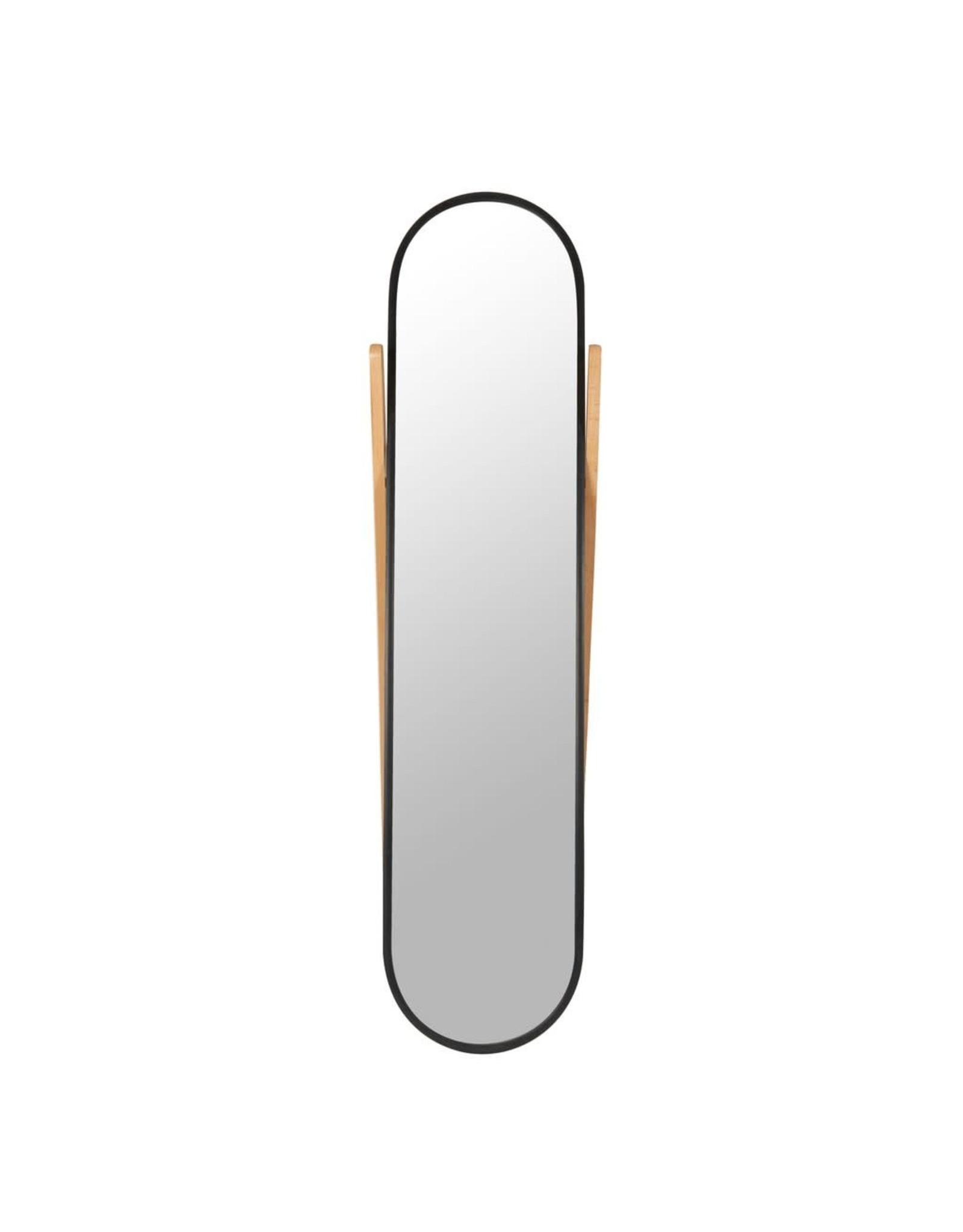 Hub Floor Mirror