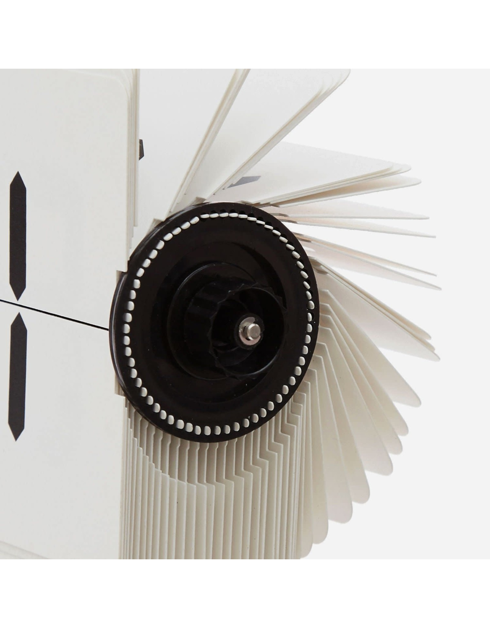 Flipping Out White Flip Clock